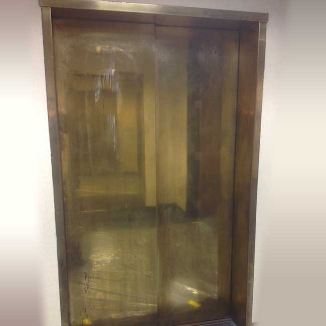 Commercial elevator Refinishing