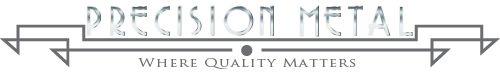 precision metal restoration Logo